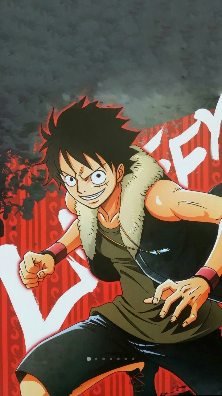 Monkey D. Luffy, OP, One Piece Animasi