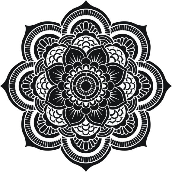 blume des lebens heilige geometrie mandala von. Black Bedroom Furniture Sets. Home Design Ideas