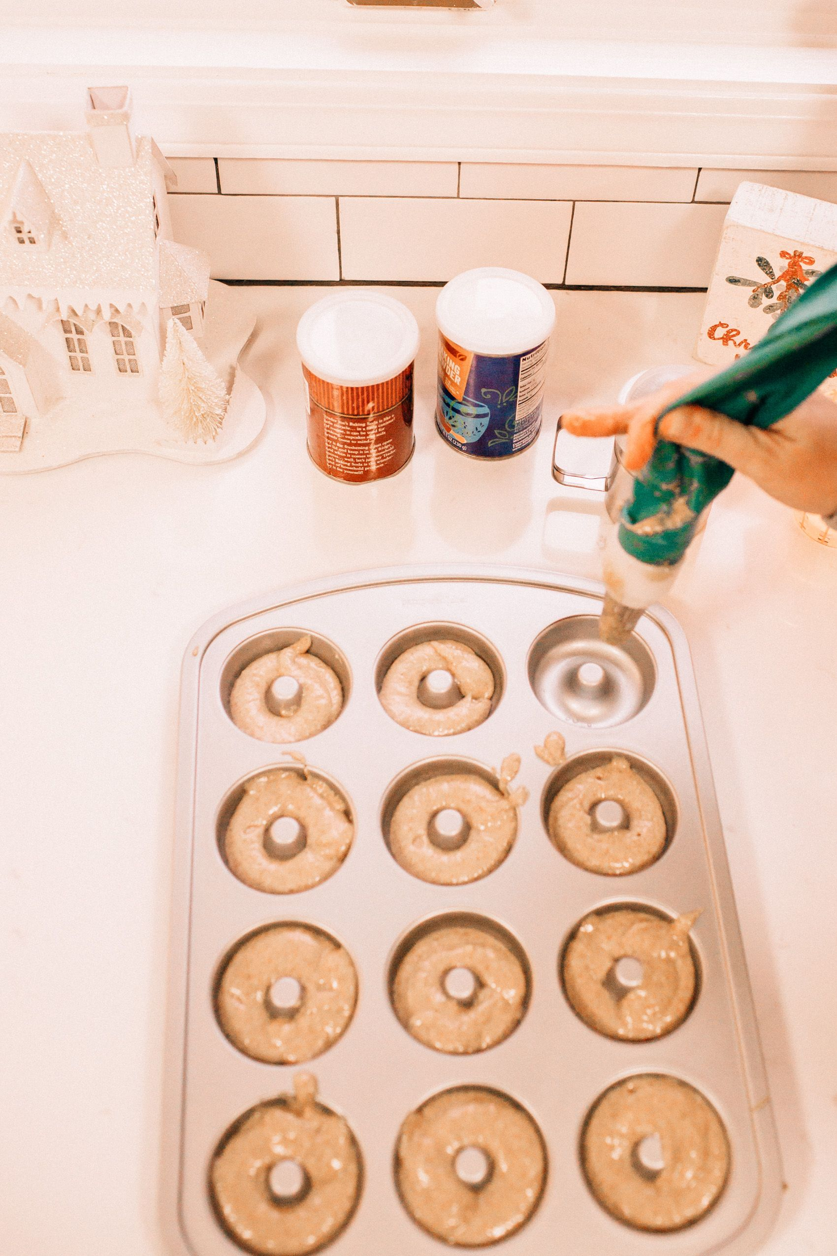 Homemade Donut Recipe With Pampered Chef