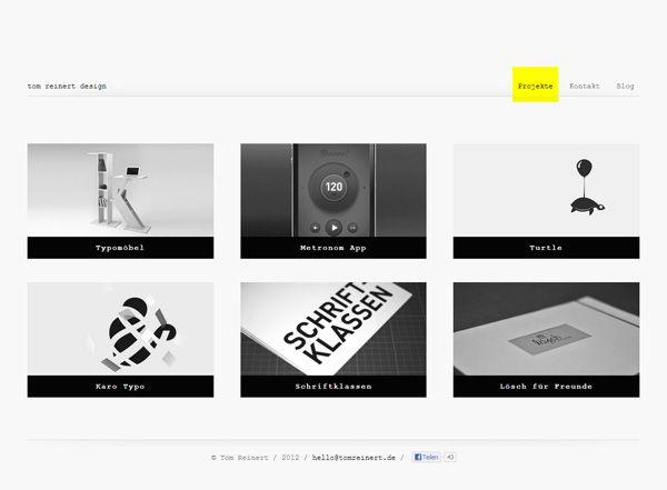 50 Beautiful Minimalist Website Designs For Inspiration