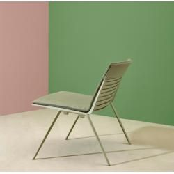 Photo of Fast Zebra seat cushion / back cushion for Zebra lounge chair whiteDesigntolike.de