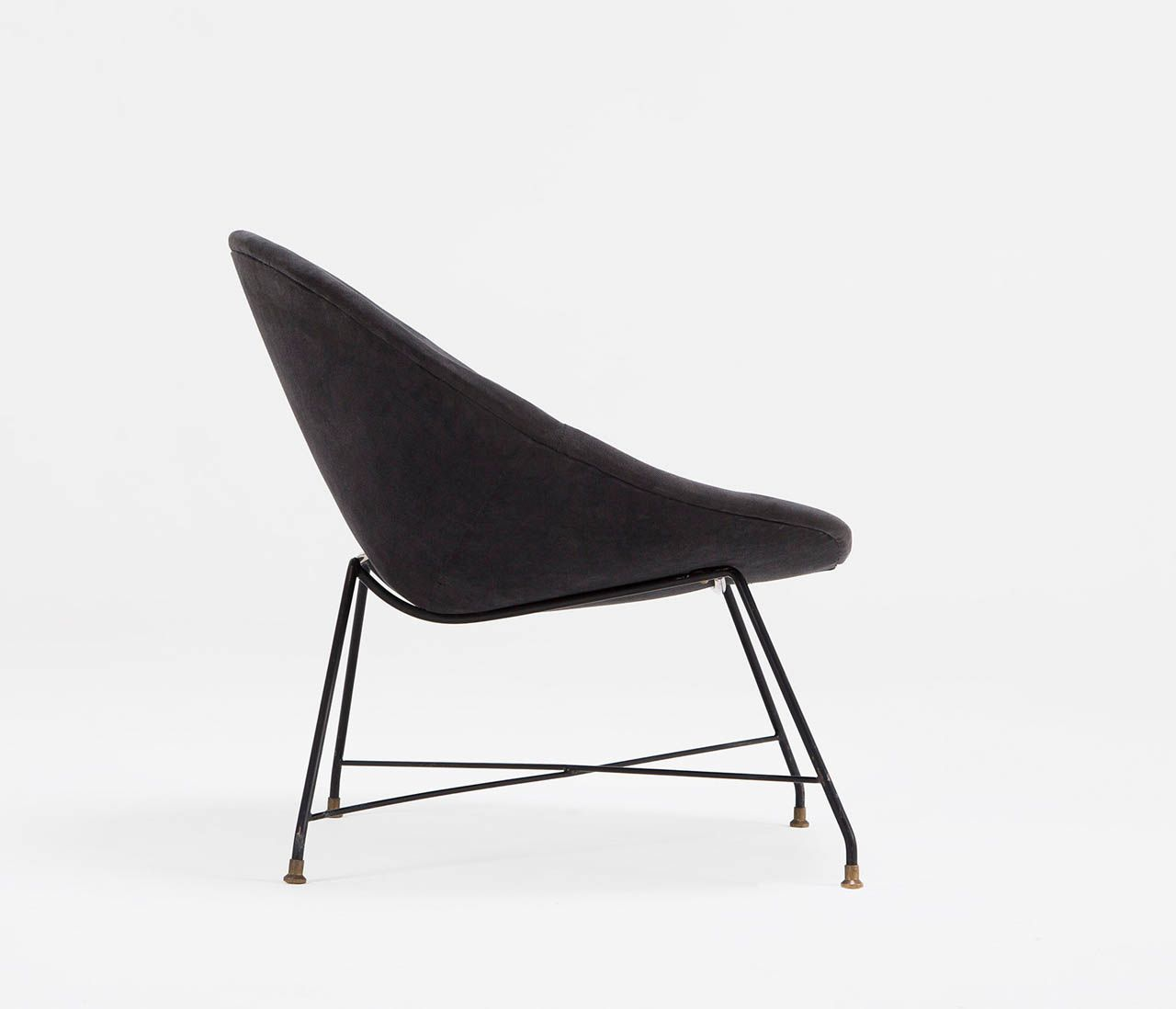 Augusto Bozzi Lounge Chair For Saporiti, Italy 1950s