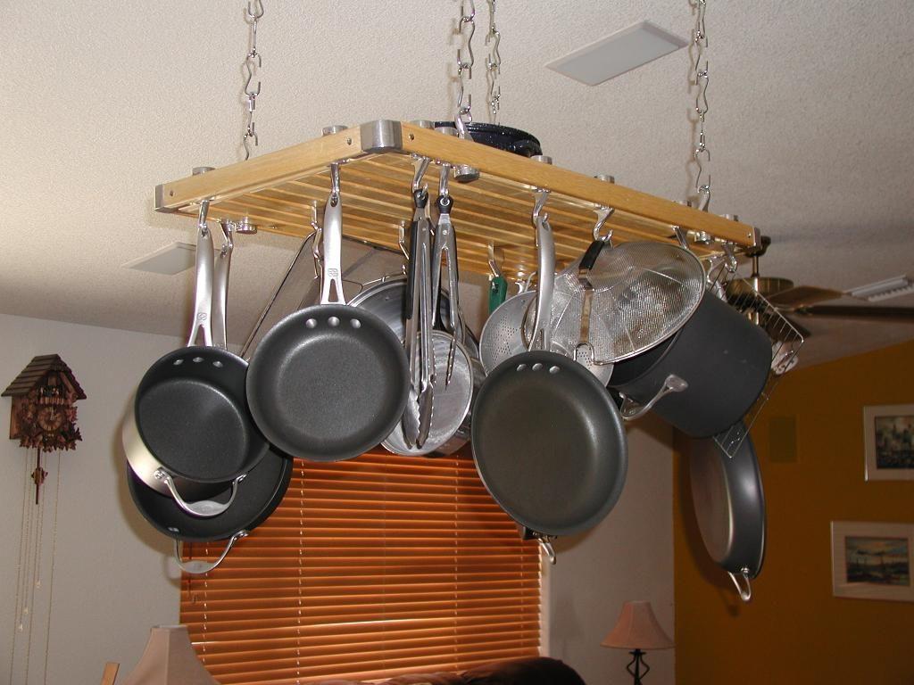 Pot and pan hanger for kitchen - Kitchen Pot Hanger