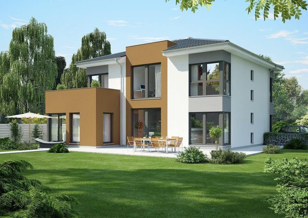 modernes stadthaus von okal haus hausbaudirekt pinterest haus okal haus und einfamilienhaus. Black Bedroom Furniture Sets. Home Design Ideas