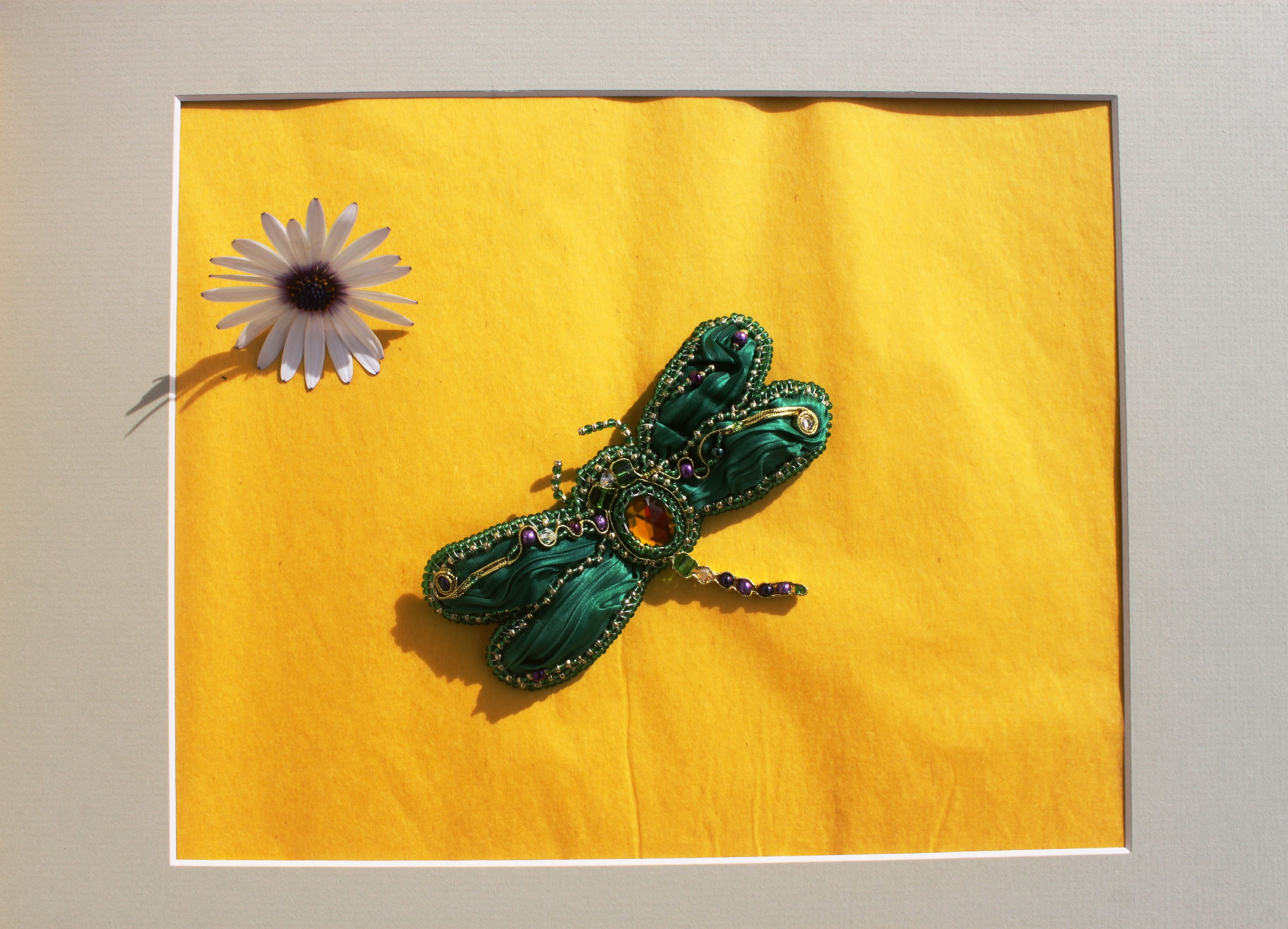 💎Brooch Dragonfly #1 💎 Chic brooch for chic women is made in the ...