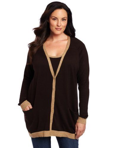Anne Klein Women's Cardigan With Contrast Trim Anne Klein. $67.67. Made in Canada. Long sleeve. Hand Wash. 50% Acrylic/48% Wool/2% Other Fiber. V-neck button down