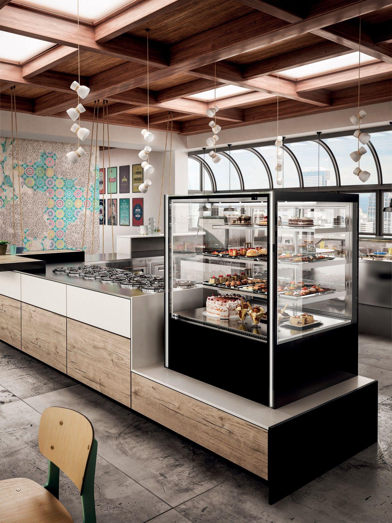 Arredo bar modello be like grab and go en 2019 for Idee arredamento bar