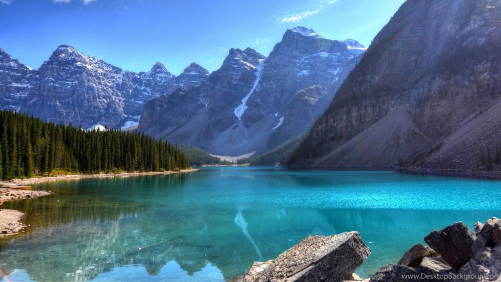 Beautiful Blue Mountain Lake 3840x2160 4k 16 9 Ultra Hd Fond Ecran Ecran