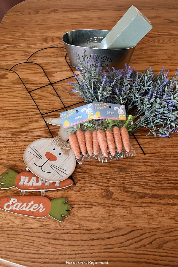 3 DIY Easter Projects from Dollar Tree - Farm Girl Reformed