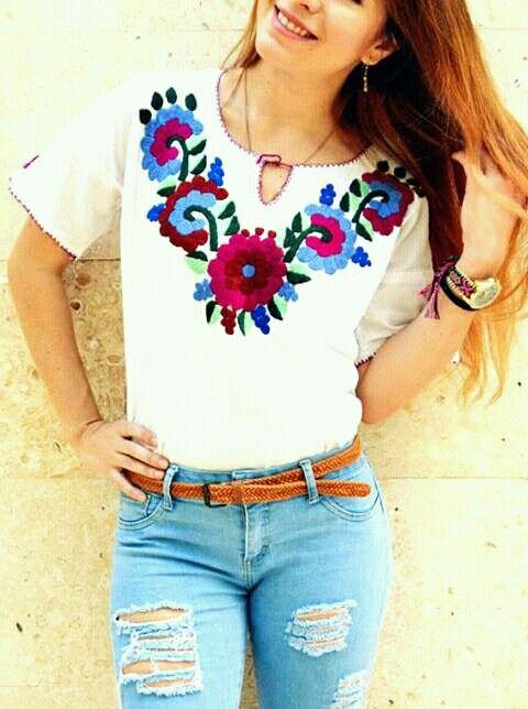 Para Mujer Camisa Mexicana - Compra lotes baratos de Para