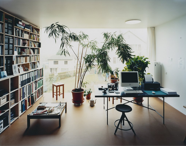 nice office/library
