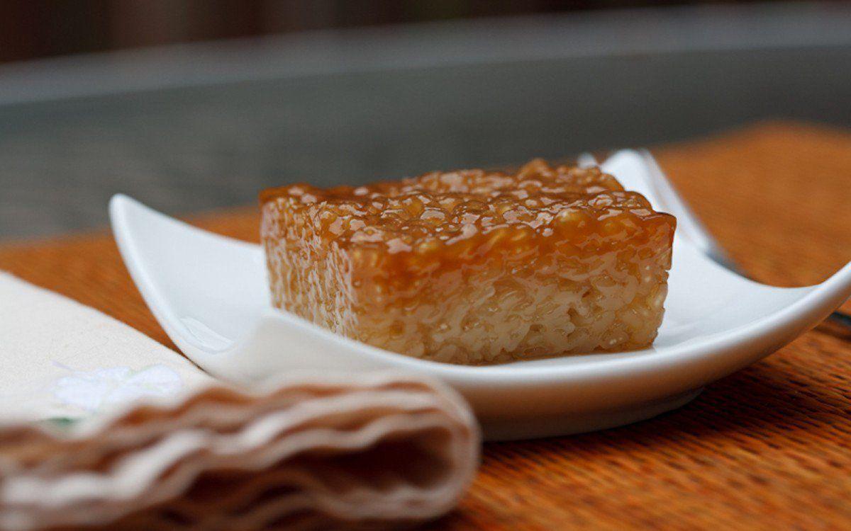 Biko filipino sticky rice vegan glutenfree one