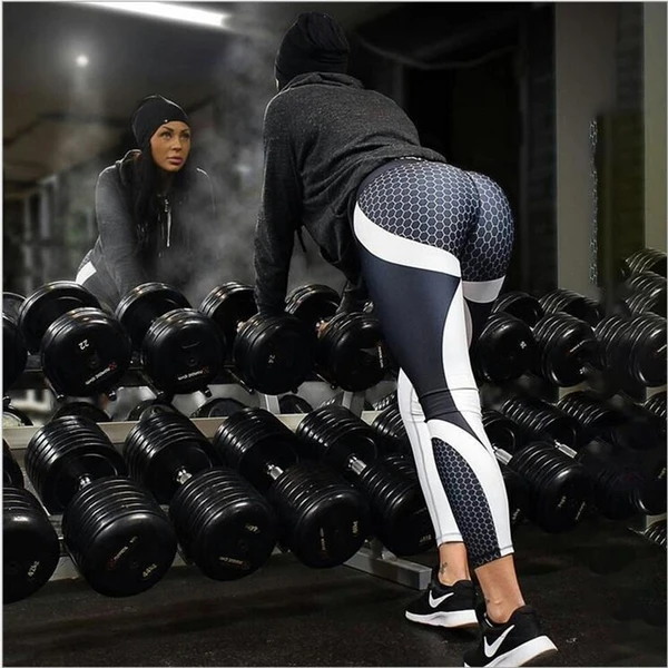 Pattern Print Leggings Fitness Outfits For Women Sports - #fitness #leggings #outfits #pattern #prin...
