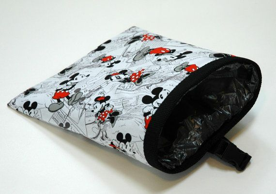 Disney Fabric Car Garbage Bag with by TwistedThreadsQuilts on Etsy