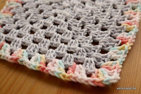 Granny-Square-Häkeln-Crochet-groß-klein-Puppenstube-Puppenhaus-Decke ...