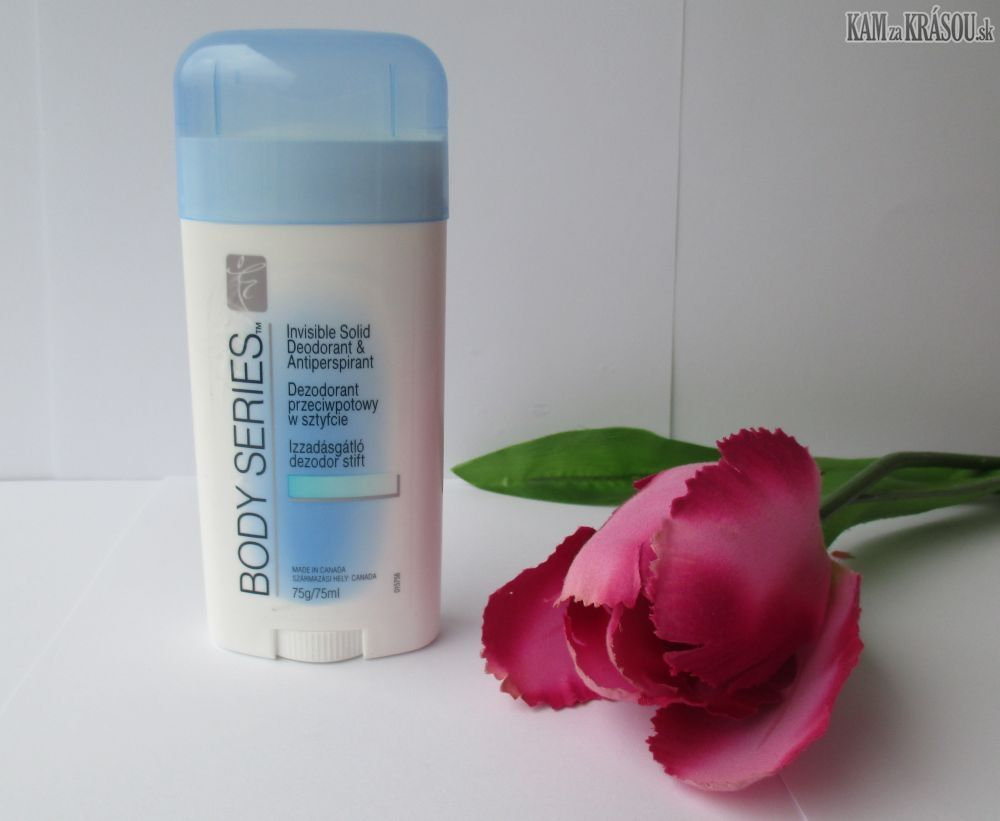 BODY SERIES - Tuhý deodorant a antiperspirant