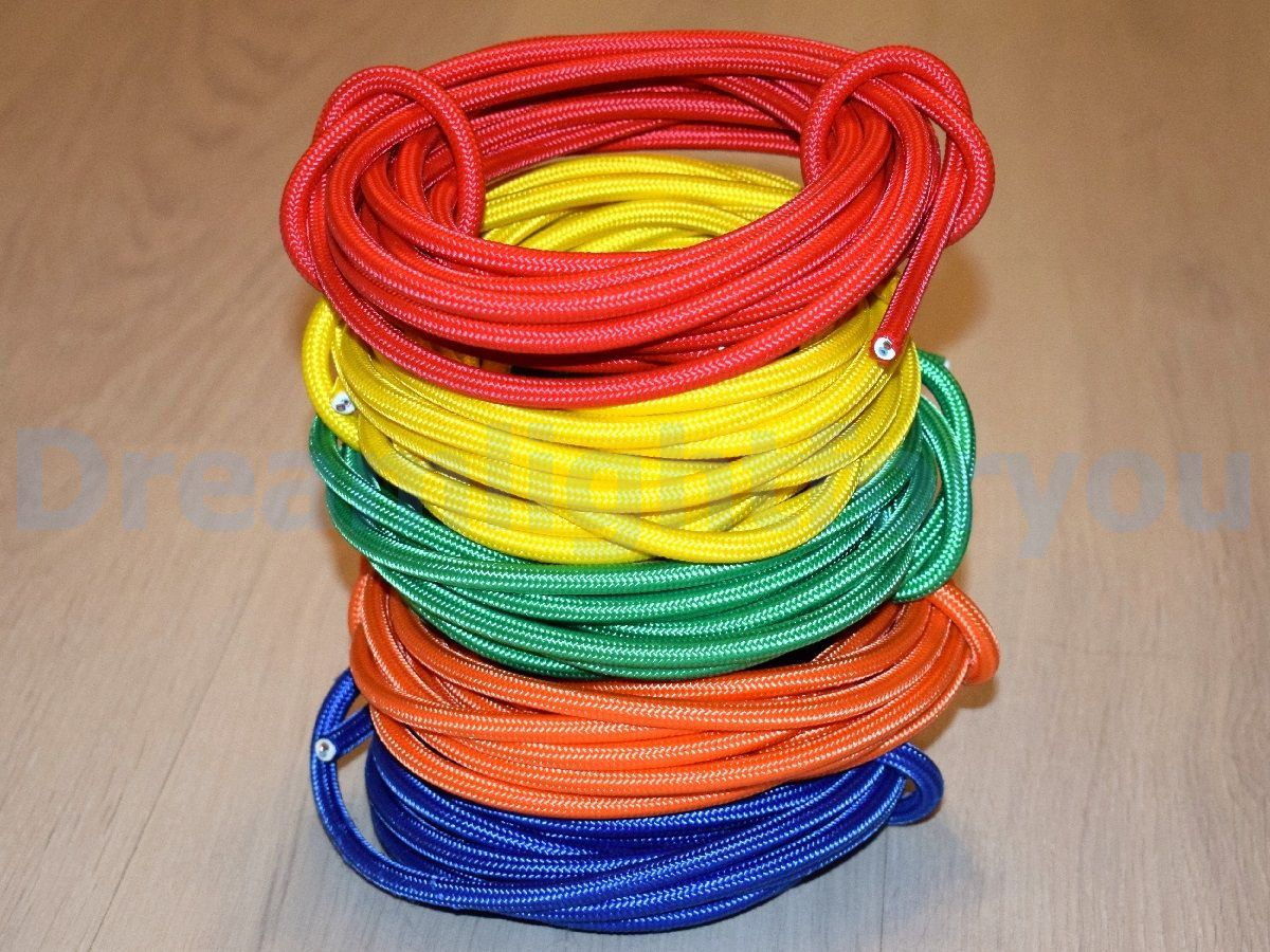 Textile Cable 1 100 Feet Lamp Cord Fabric Covered Wire Cloth Etsy Lamp Cord Cable Lighting Cloth Cord