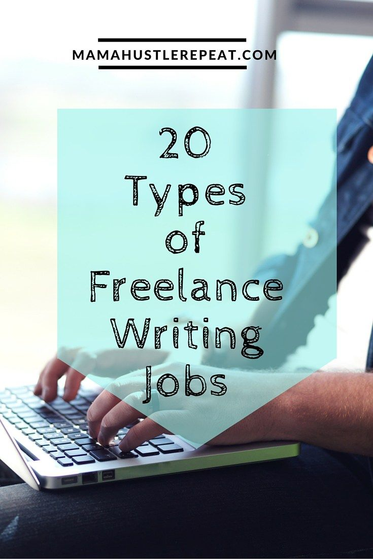 types of lance writing jobs that pay big writing money 20 types of lance writing jobs to make money