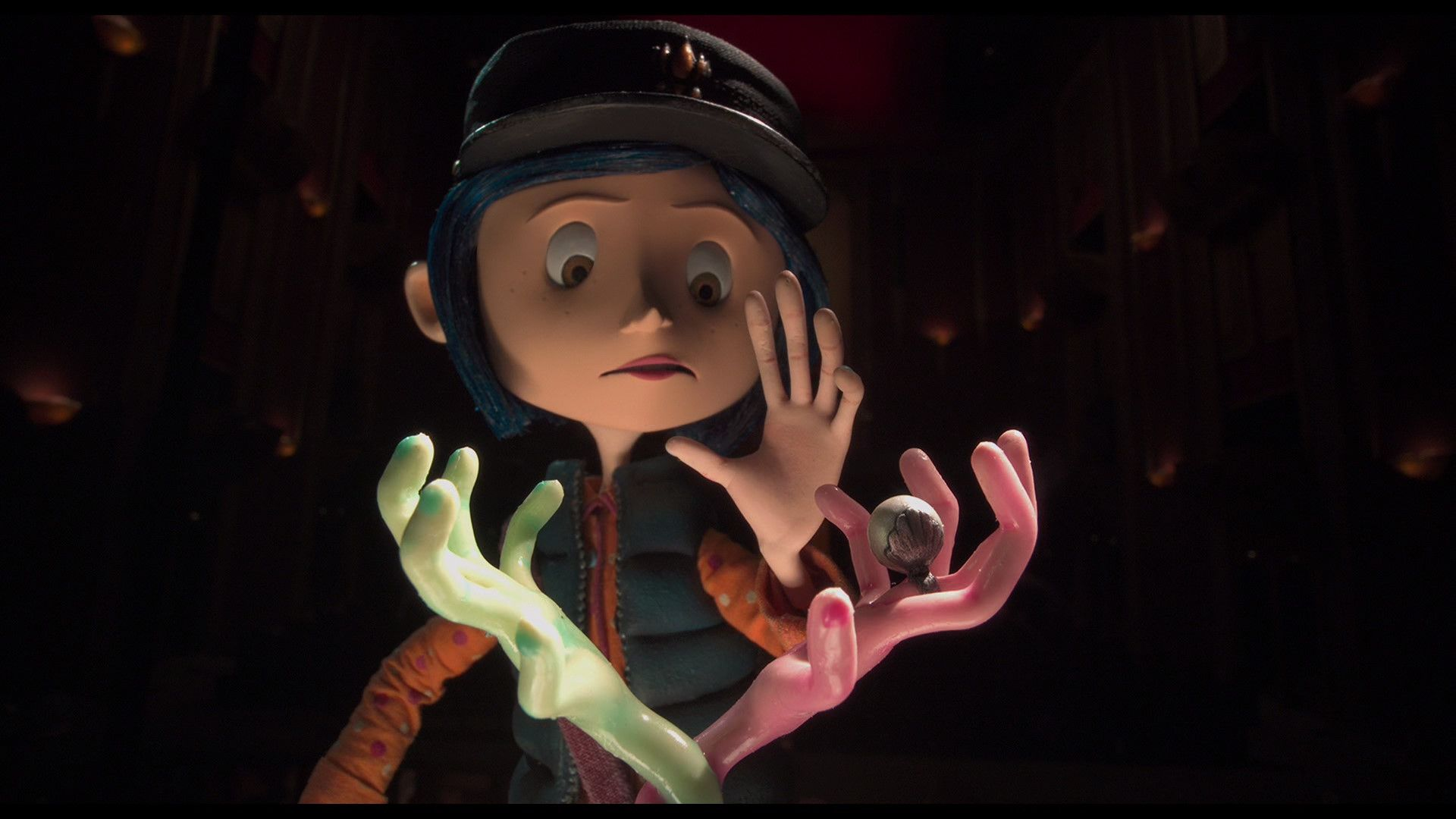 Coraline Blu Ray Teri Hatcher Dakota Fanning Coraline Coraline Aesthetic Stop Motion