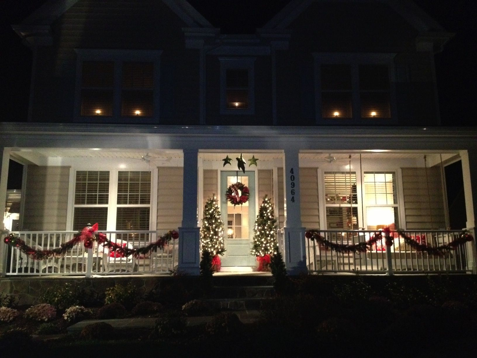 I Cant Wait To Decorate Christmas Porch Decorationschristmas Front