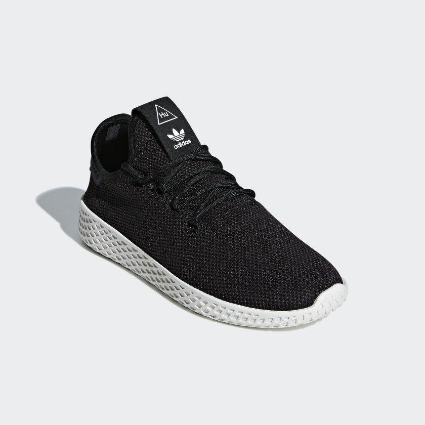 fb33f33081 Pharrell Williams Tennis Hu Shoes Core Black / Core Black / Chalk White  BD7768