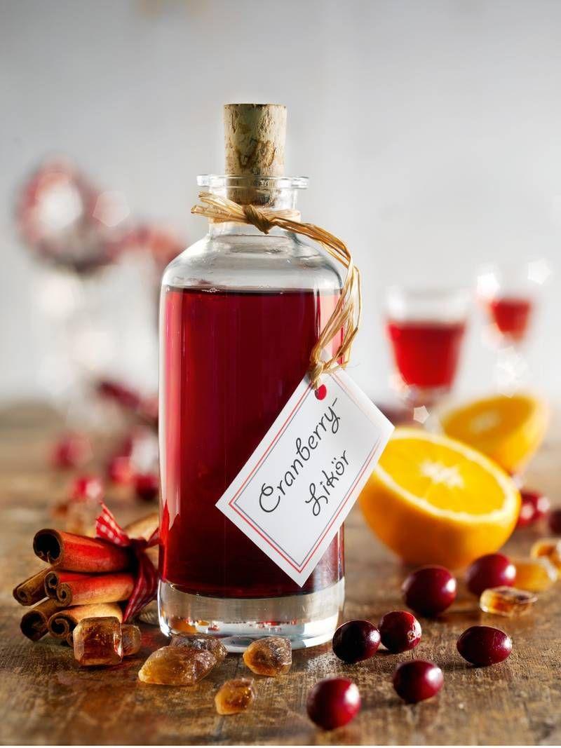 Cranberry Likor Rezept Cranberry Likor Selbstgemacht Schnaps Rezepte