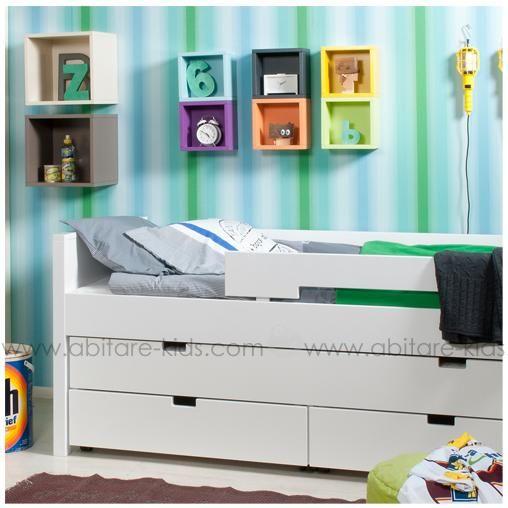 nouvelle gamme volutive combiflex de la marque bopita le lit compact 90x200 cm avec tiroirs de. Black Bedroom Furniture Sets. Home Design Ideas