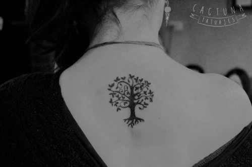 Arboles Pequenos Para Tatuajes Buscar Con Google Ideas De