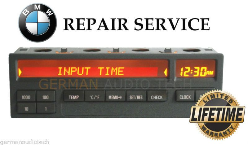Bmw E36 11 Button On Board Computer Obc Pixel Lcd Display Repair Service Fix