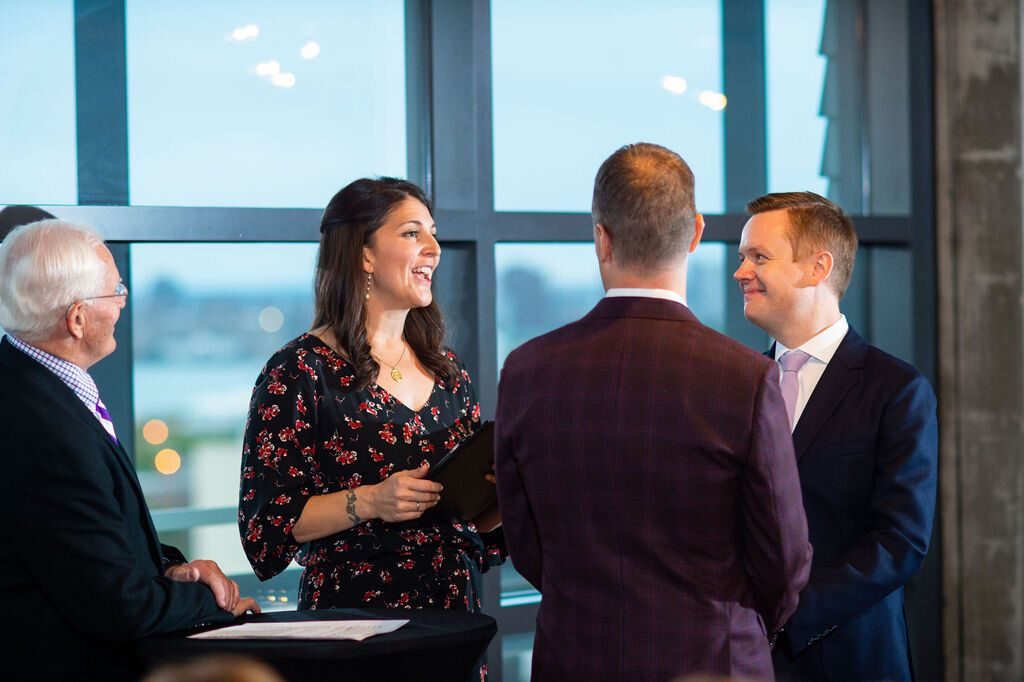 Intimate Wedding at Boro Hotel in Long Island City, Queens
