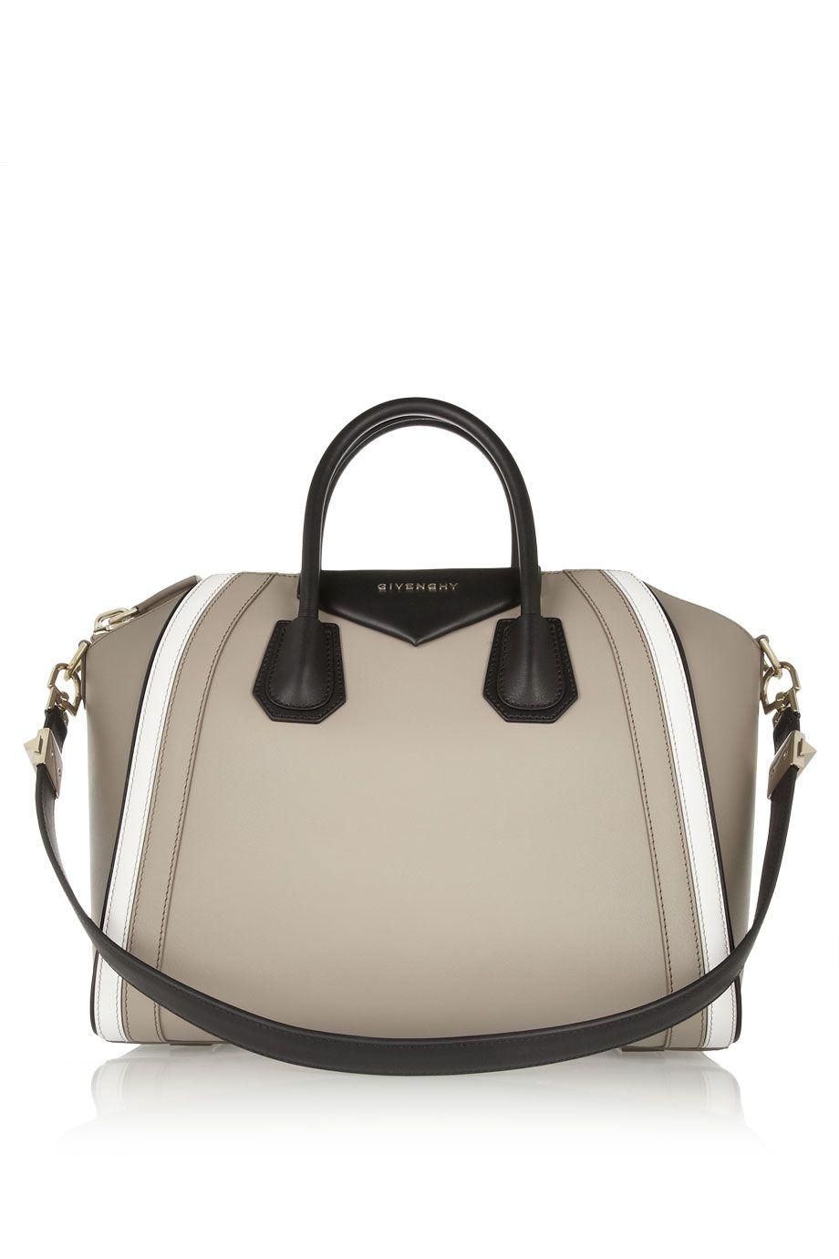 4b903d42fa9 Givenchy   Medium Antigona bag in beige, white and black leather   NET-A -PORTER.COM
