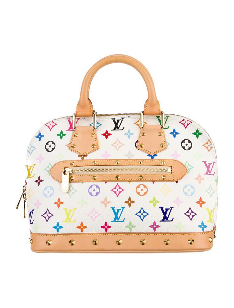e5e53f40af14 Louis Vuitton Multicolore Alma