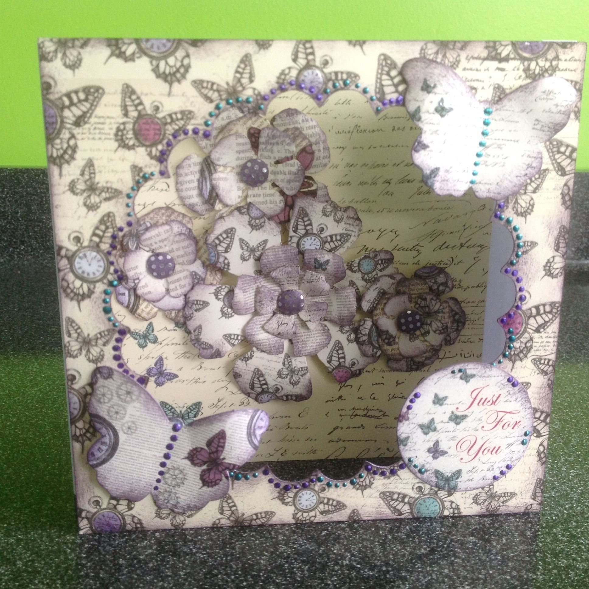 Craftwork Cards: Time Flies By Lisa Shaw