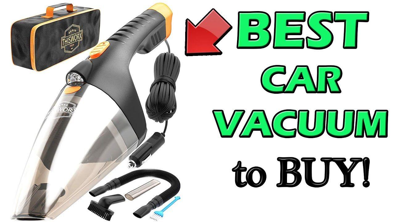 Best Portable Car Vacuum 2020 in 2020 Car vacuum