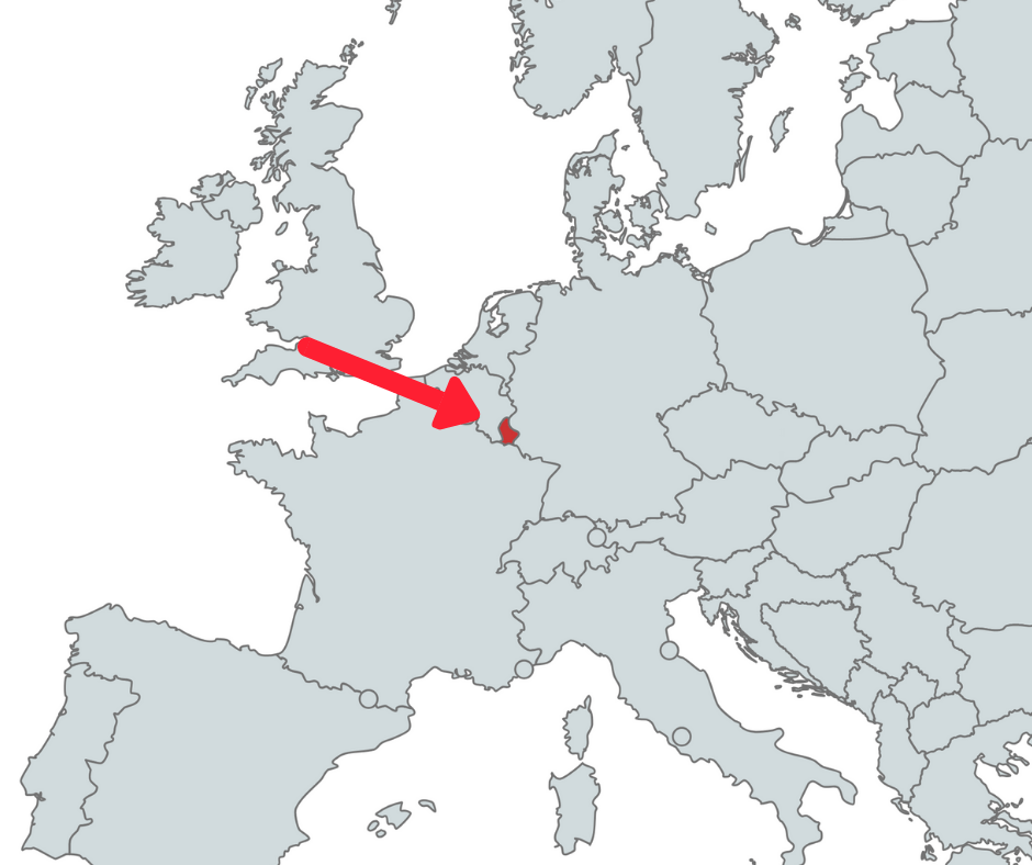 French speaking countries in Europe 🇪🇺 Just French It