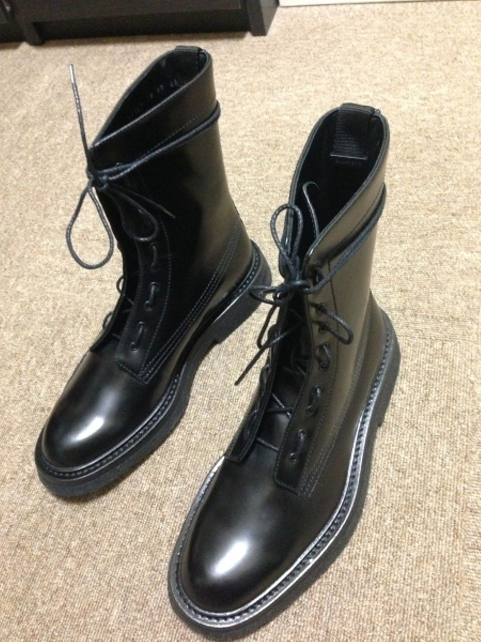 Dior Dior Homme Combat Boots 07 Size 9  1025 - Grailed ed7892292a1