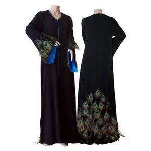 One day I'm have me a peacock abaya...inshAllah, even if I have to make it myself!