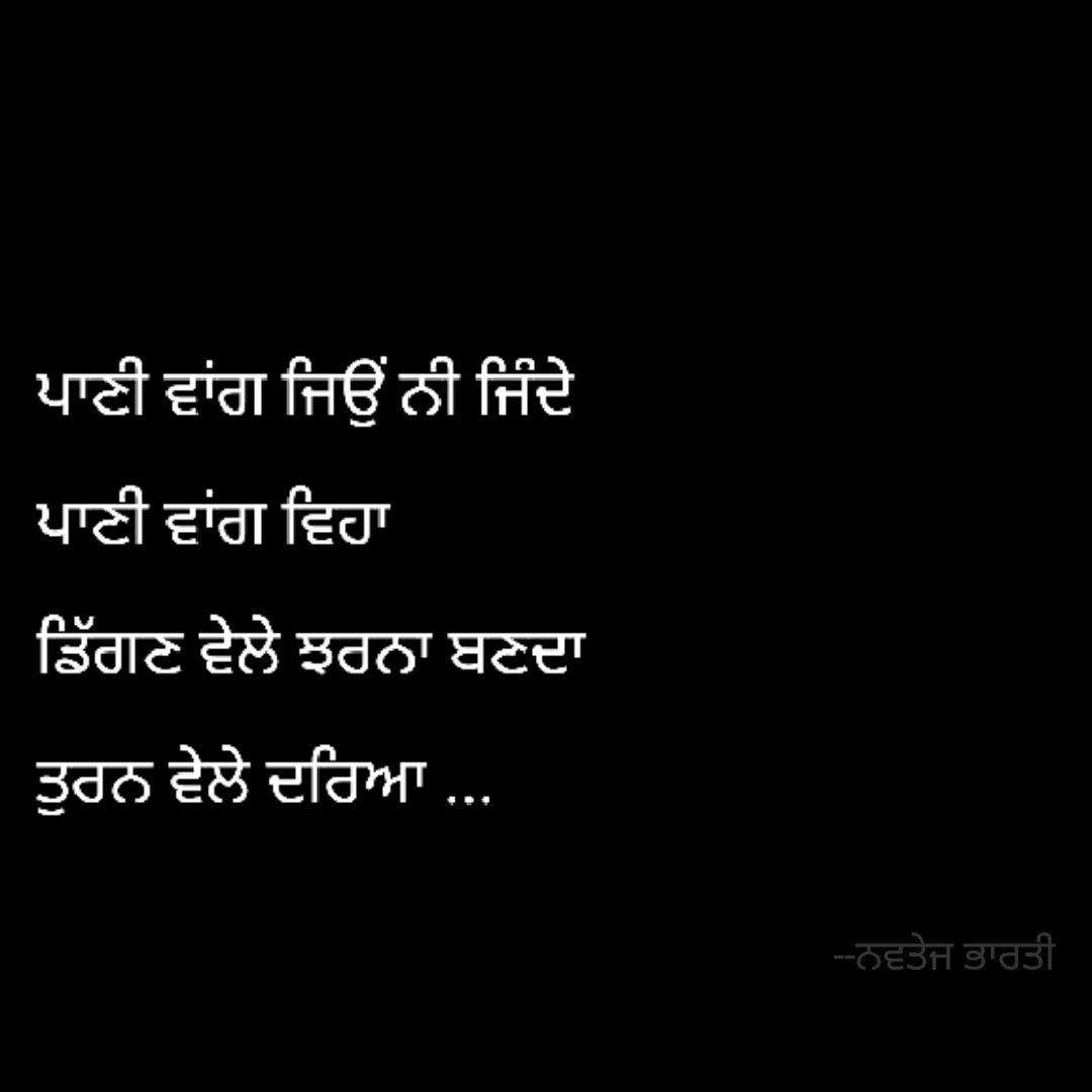 punjabi  Poetic quote, Indian quotes, Chanakya quotes