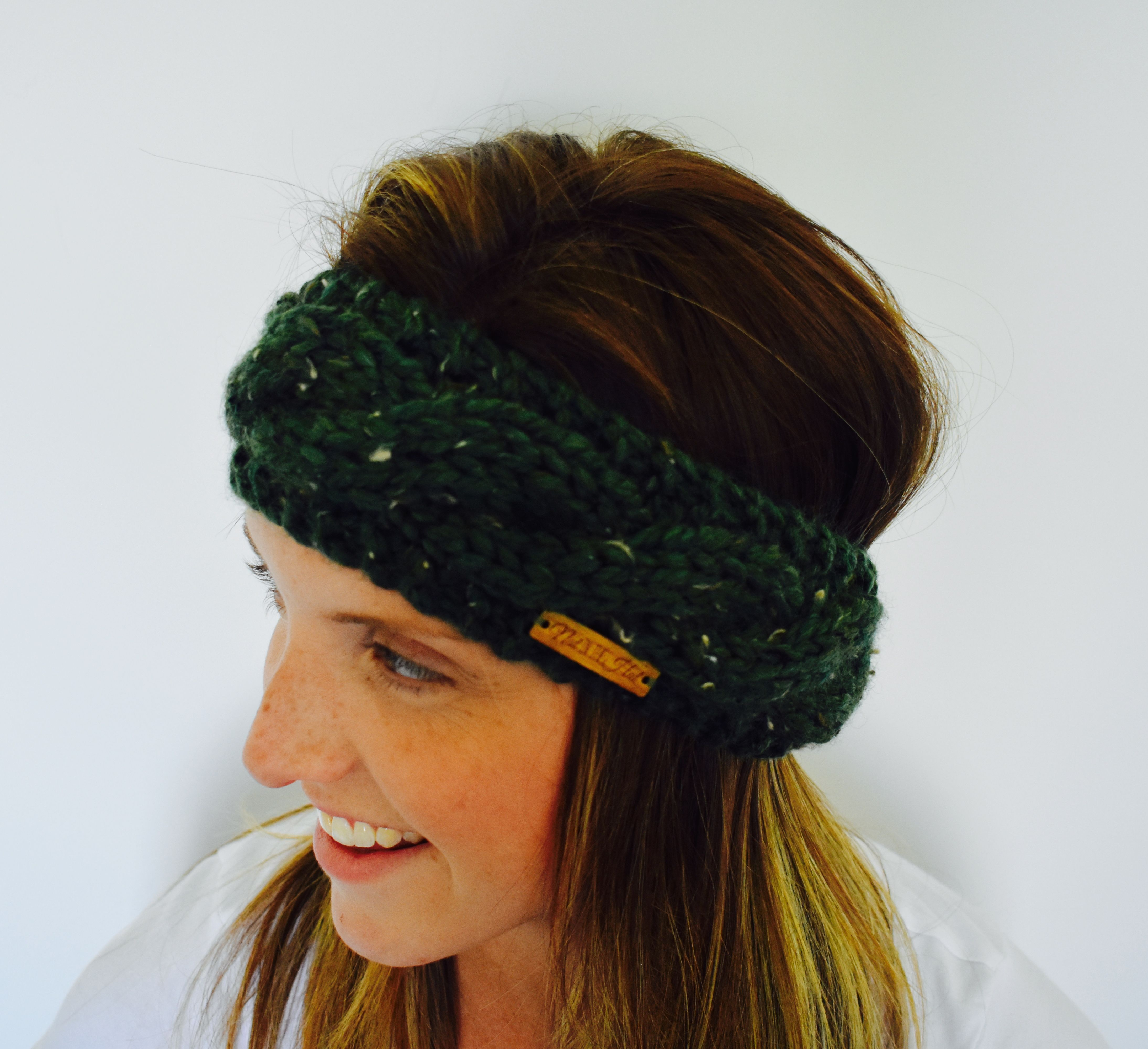 The Wren Wrap  Thick and warm braided headband that will keep you warm through the fall and into winter. Made with super bulky yarn, the wind won't be getting through these cables and causing a chill anytime soon.   **Pattern by Indie Fibre Art**