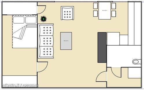 40m² Porvoonkatu 33, 00510 Helsinki Kerrostalo kaksio vuokrattavana | Oikotie 9261051