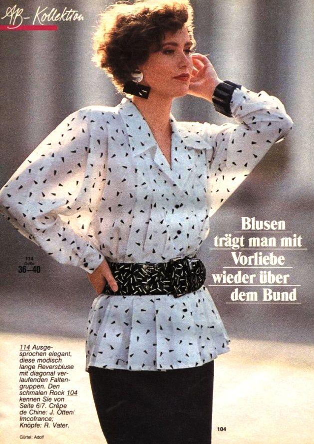 1988 burda moden 1988 pinterest mode der 80er und mode. Black Bedroom Furniture Sets. Home Design Ideas