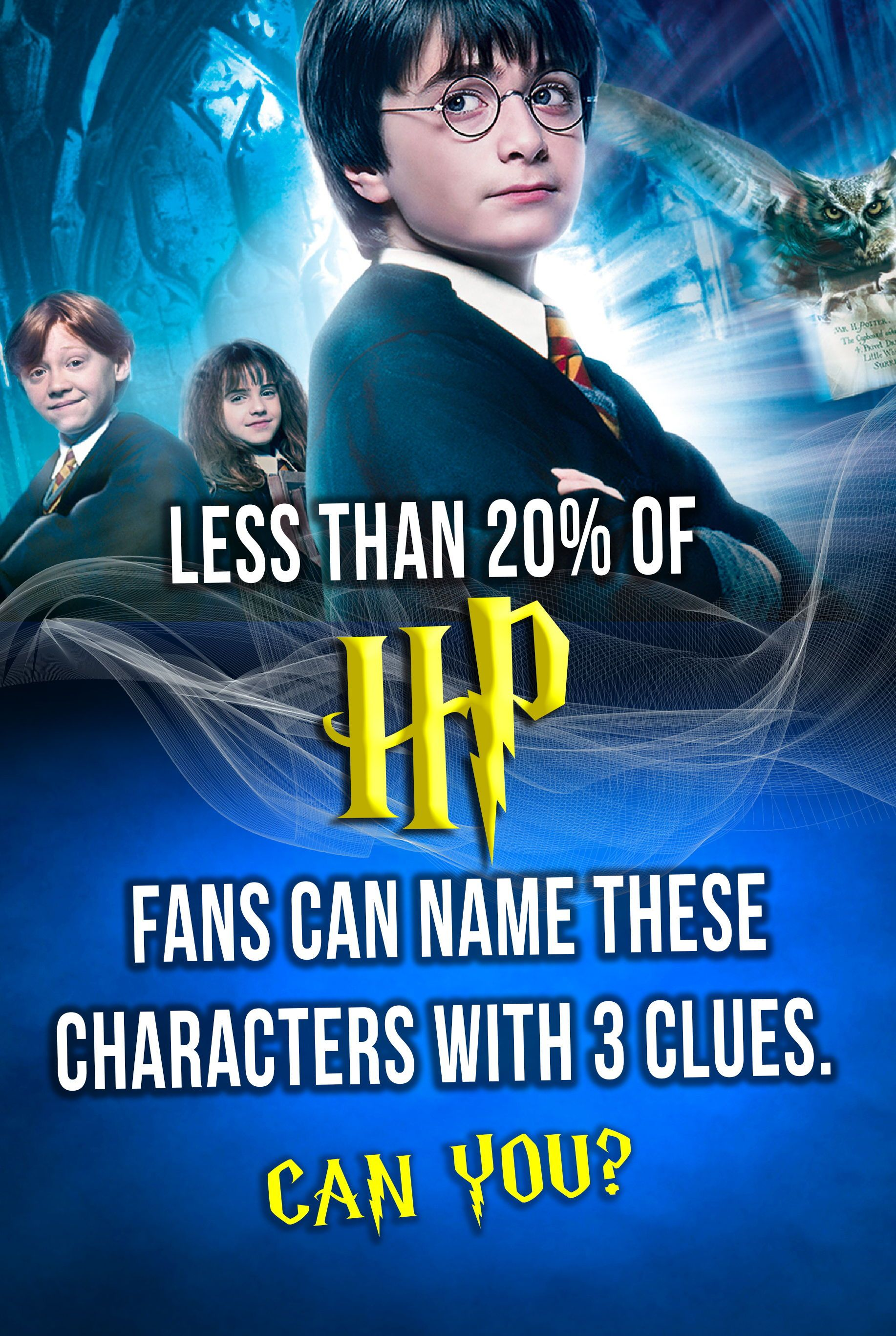 Hogwarts Quiz Can You Name All Of These Hp Characters With Just 3 Clues Hogwarts Quiz Hogwarts Quizzes Harry Potter Characters
