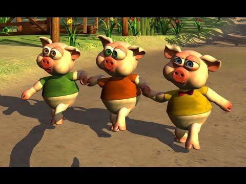 Os 3 Porquinhos Historia Completa Desenho Animado Infantil Com