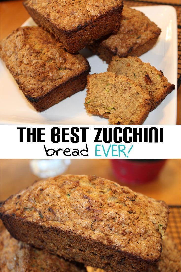 yummy zucchini bread recipe the whole family will love