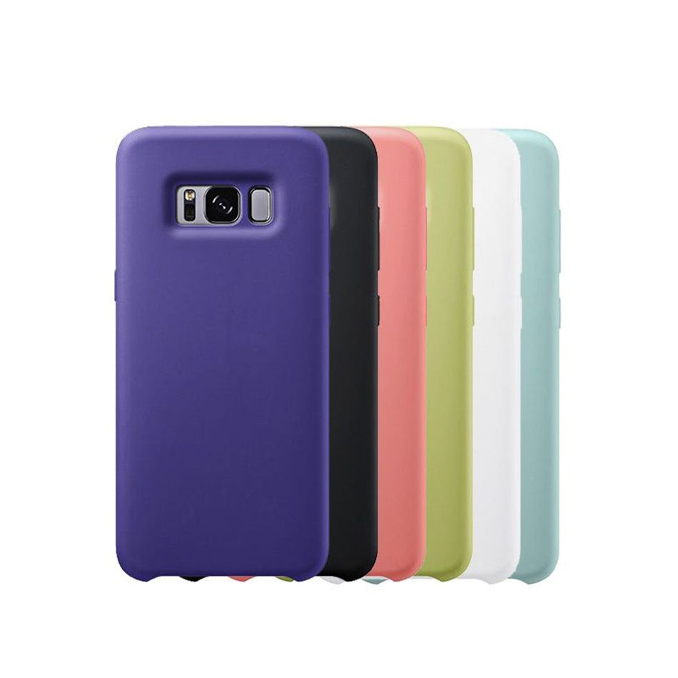 For Samsung Galaxy S8 S8plus Plus Luxury Original Silicone Case Cover Casing Elegant Official Design Shockproof Soft Silicon
