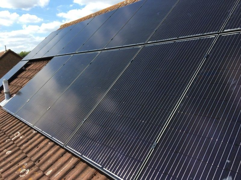 Solar Pv Weavering Kent Mr A Tlgec Updates Solar Solar System Size Carbon Offset
