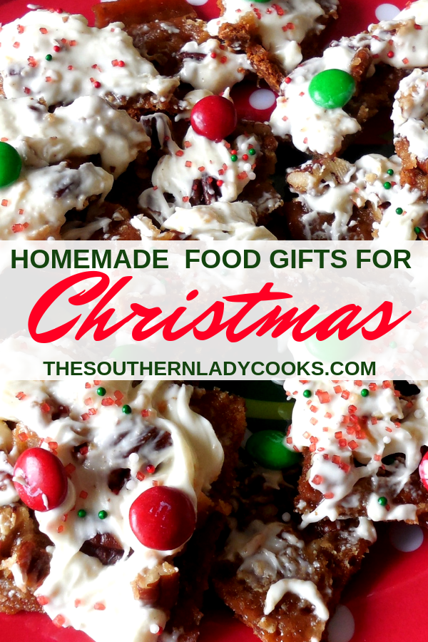 10 HOMEMADE FOOD GIFTS FOR CHRISTMAS - The Southern Lady