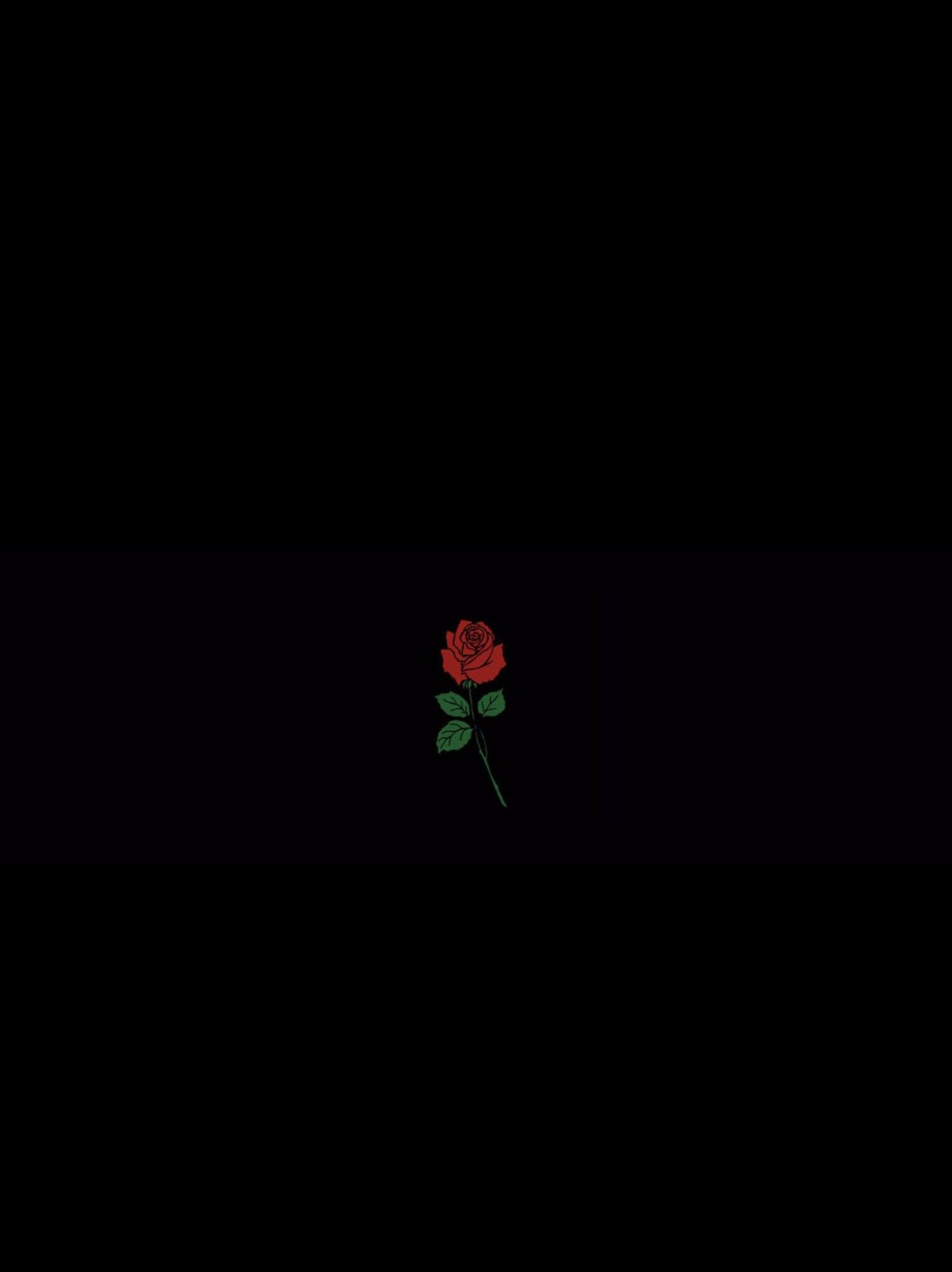 Itsallabouttj Fw Me Dark Wallpaper Rose Wallpaper
