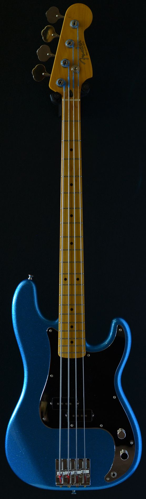 Fender Precision Steve Harris 4 string bass (via Bass Direct) #fenderguitars
