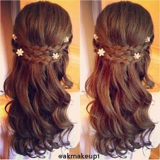Trenzas Cruzadas Para Peinados Faciles Cositasconmesh Hair Styles Long Hair Styles Flower Girl Hairstyles